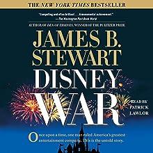DisneyWar Audiobook by James B. Stewart Narrated by Patrick Lawlor