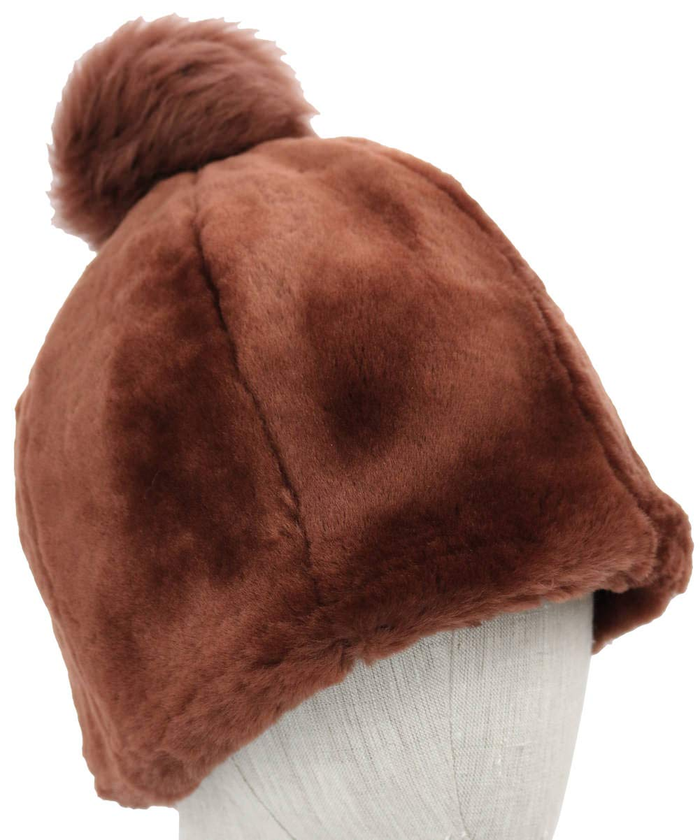 UGG Women's Solid Water Resistant Sheepskin Beanie Port SM/MD