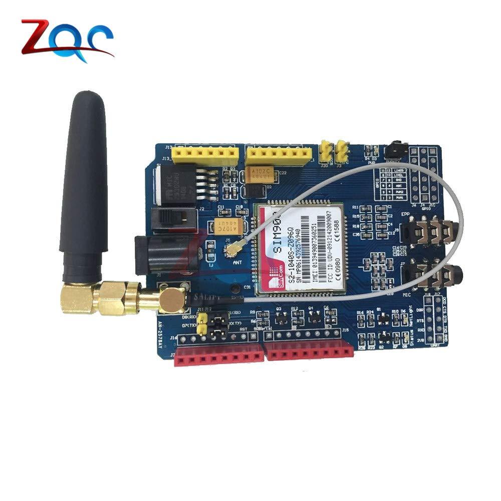 SIM900 GPRS//GSM Shield Development Board Quad-Band Module for Compatible