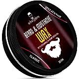 urbangabru Beard & Mustache Wax for strong hold 50gm