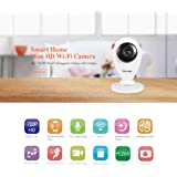 Sricam Smart Home Mini HD Wi Fi Camera HD 720P/Wi Fi/Elegant/sSharp HD Video Camera for Shop/ Baby Safety/Home Safety Camera