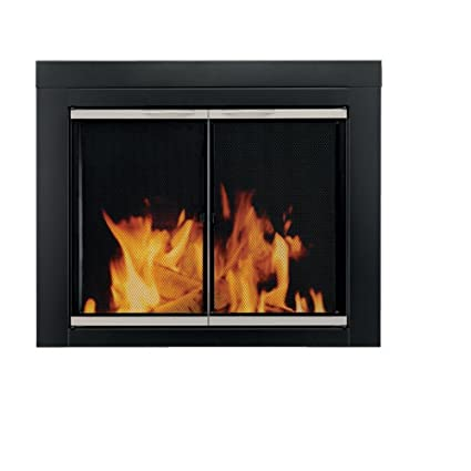 Amazon pleasant hearth ap 1132 alsip fireplace glass door pleasant hearth ap 1132 alsip fireplace glass door large solutioingenieria Images