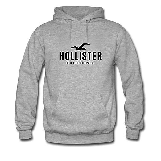 Amazon.com Hollister California Black Logo Printed For Ladies Womens  Hoodies (6287926444000) Books