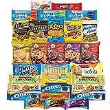 Sweet Cookies, Crackers & Snacks Care Package Variety Pack Bundle Includes Grandmas Cookies, Oreos, Chips Ahoy, Rice Krispies, Keebler & More Bulk Sampler (30 Count)