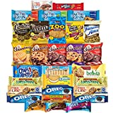 Variety Fun by Custom Varietea  Assortment Includes: • 1 Chips Ahoy (1.4 oz) • 1 Golden Oreos (1.8 oz) • 1 Nutter Butter (1.9 oz) • 3 Original Oreos (2 oz) • 3 Nutri Grain Bars (1.3 oz) • 6 Grandmas Cookies (2.5 oz) • 1 Belvita (1.76 oz) • 1 ...