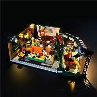 LYCH LED-verlichtingsset voor LEGO Ideas 21319 - Friends Central Perk Café bouwset, compatibel met LEGO 21319, zonder…