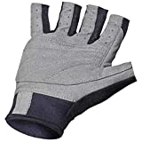 NeoSport 3/4 Finger Neoprene Gloves, 1.5mm - Unisex Design for Obstacle Racing, Biking, Sailing and Paddle Boarding - Offer Protection and a Reliable Grip - Soft, Comfortable Fit, Black, Small