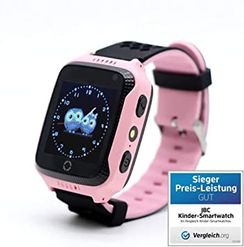 JBC Reloj Inteligente con teléfono y GPS, sin función de Escucha ...