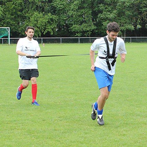 Pour coureurs sprintgurt optimal et pour schnellkrafttraining teamsportbedarf fußballtraining -