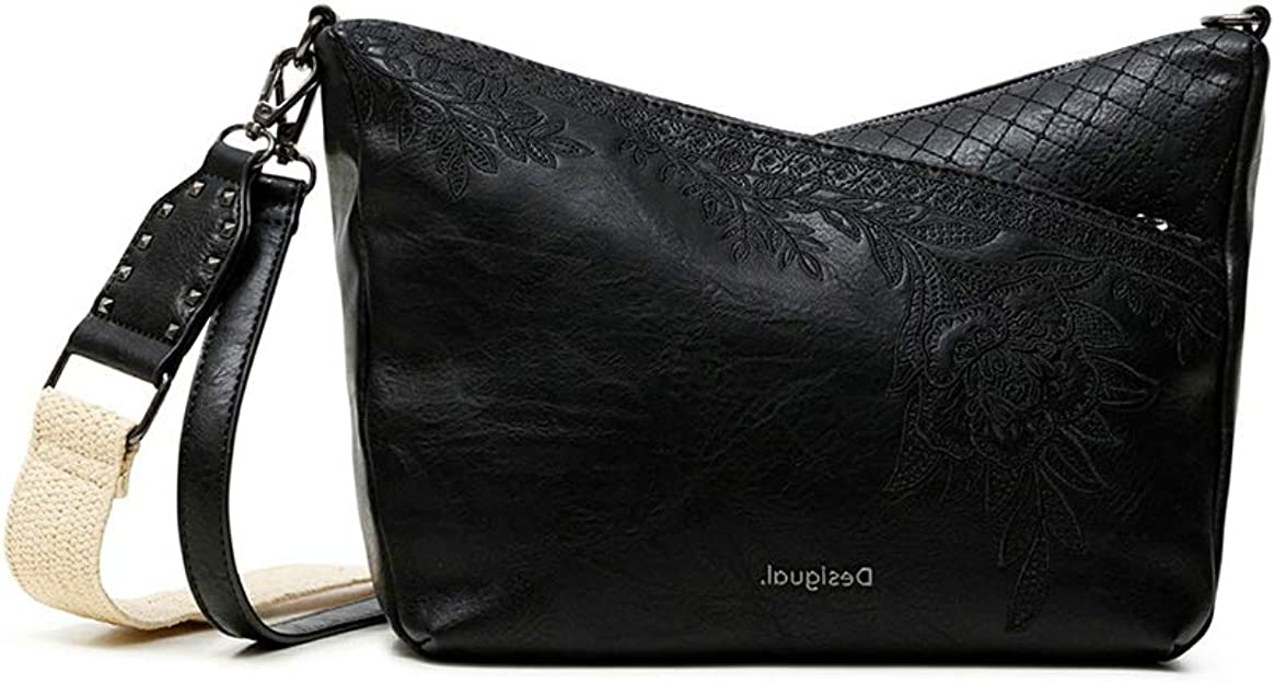 Desigual PU Body Bag, Bolsa para Cuerpo de Across para Mujer, Talla única