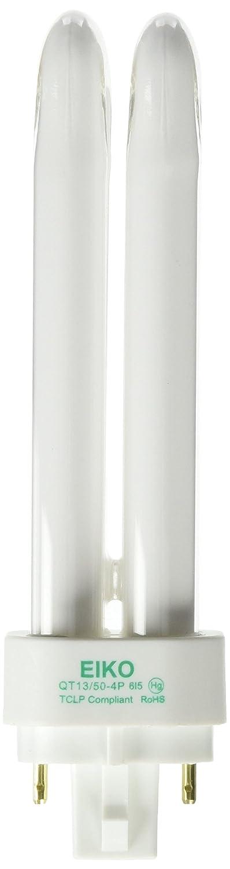 Eiko QT13 50 4P 13W Quad Tube 5000K G24q 1 4 Pin Base Fluorescent Halogen Bulbs