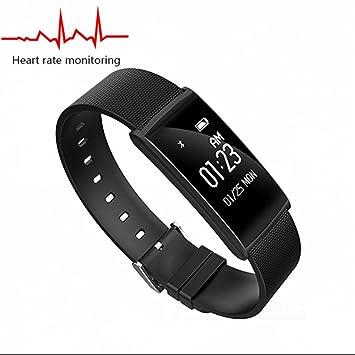 Bracelet connecté Bluetooth montres connectée podomètre Sports Extérieurs Montre,Fitness et Musculation,dormir moniteur