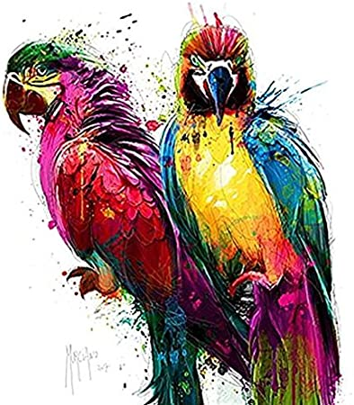 Prêt Tableau Patrice Murciano Tropical Colors I 70 X 70
