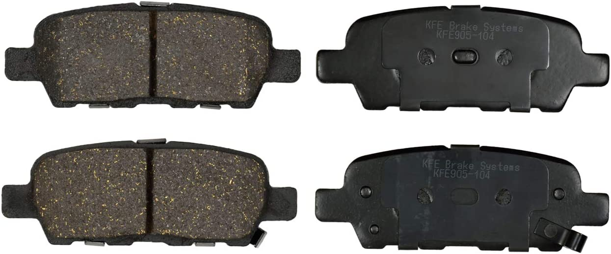 KFE Ultra Quiet Advanced Premium Ceramic Brake Pad