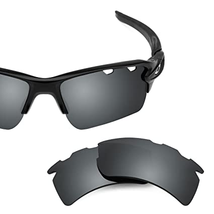 adb80d8b1ae Revant Polarized Replacement Lenses for Oakley Flak 2.0 XL Vented Elite  Black Chrome MirrorShield