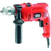 BLACK+DECKER KR504CRESK 240 V Variable Speed Corded Hammer Drill, 500 W