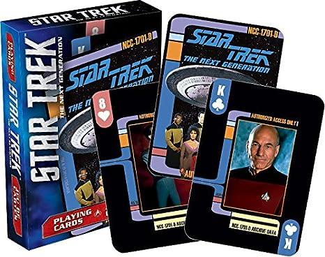 Amazon.com: Star Trek Nueva Generación Juego de cartas: Toys ...