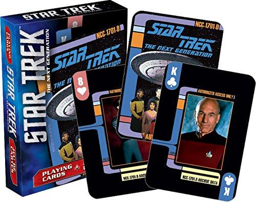 (Aquarius Star Trek New Generation Playing Cards)