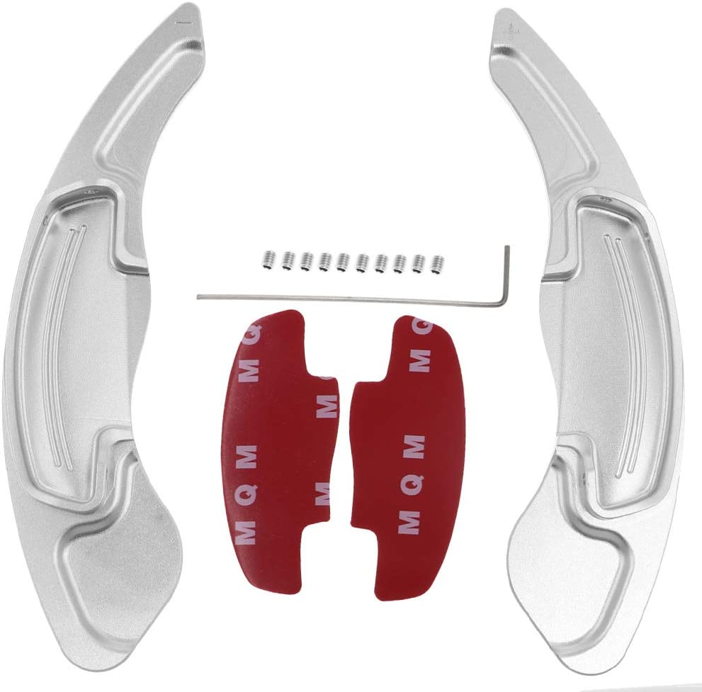 Red Inner Steering Wheel Paddle Shifter Extension For Acura TLX 2015-2019