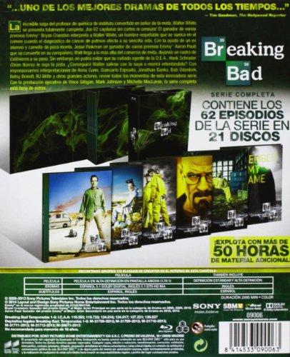 Breaking Bad - Temporadas 1-5 Caja Serie Completa Blu-ray: Amazon ...