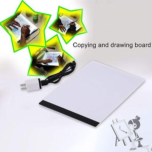 Curitelyultra-Thin LED A4 Luz Caja Pantalla Pad Mesa de Dibujo ...