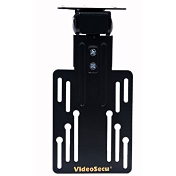 VideoSecu Kitchen Under Cabinet TV Ceiling Mount Flip Folding Bracket,110  Degree Tilt,180