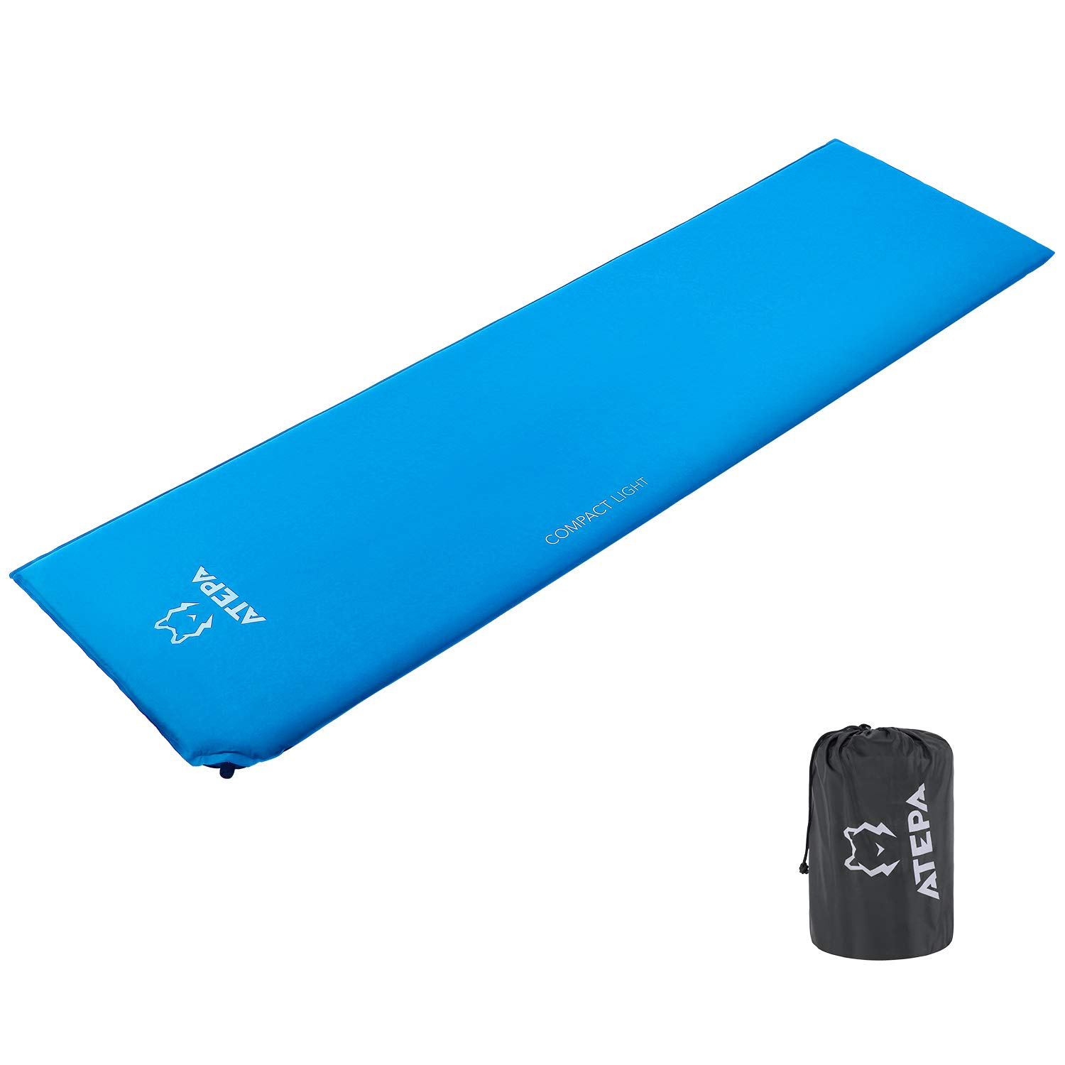 ATEPA Compact TPU Ultra-Light eco-friendly Self-Inflating Camp Pad for Camping