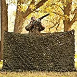 Red Rock Outdoor Gear Trophy Series Big Game Camouflage Net, 10 x 10-Feet, Green/Brown
