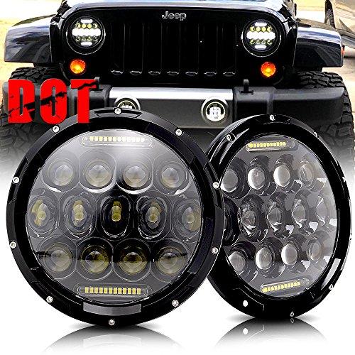 07 jeep wrangler headlights - 3