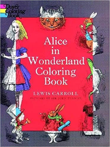 Ipad Coloring Book Le Pencil : Alice in wonderland coloring book dover classic stories