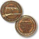 Constitution - Second Amendment - Bronze Antique