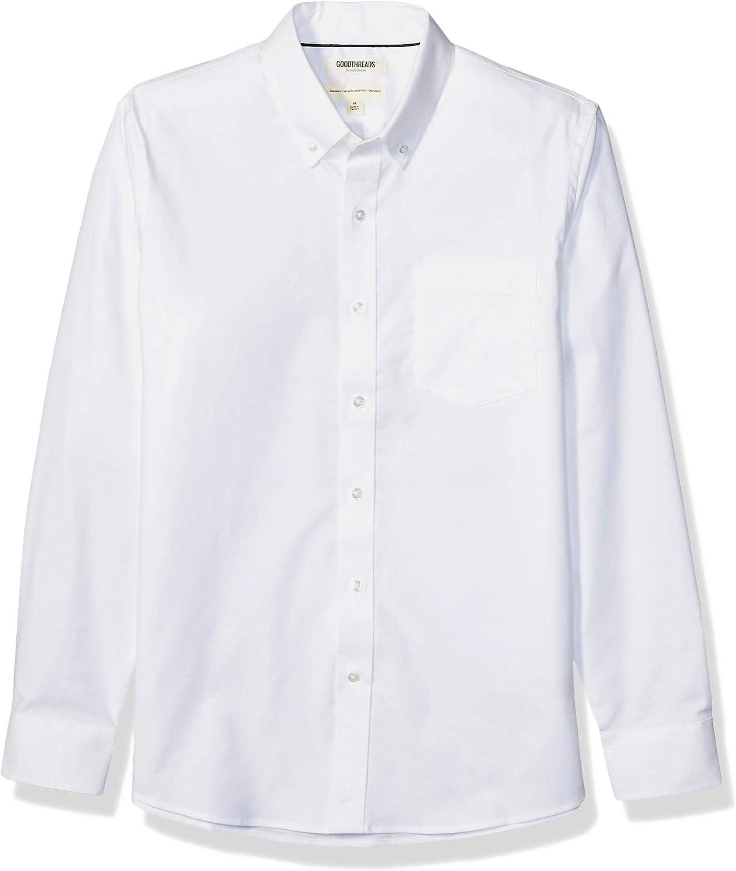 5 popular Goodthreads Men's Standard-Fit Long-Sleeve specialty shop Resistant Wrinkle Com