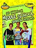 20 Hands-on Middle School Spanish Lessons Book