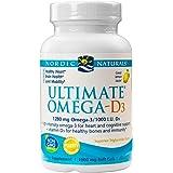 Nordic Naturals - Ultimate Omega-D3, Supports Healthy Bones and Immunity, 60 Soft Gels (FFP)