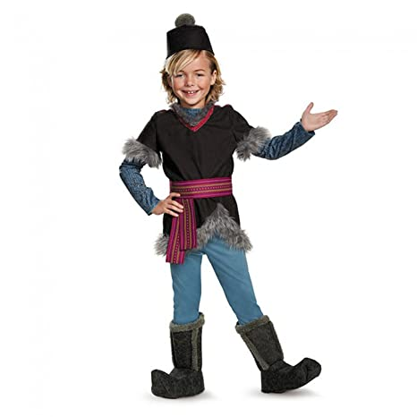 amazon com kristoff deluxe child frozen disney costume medium 7 8