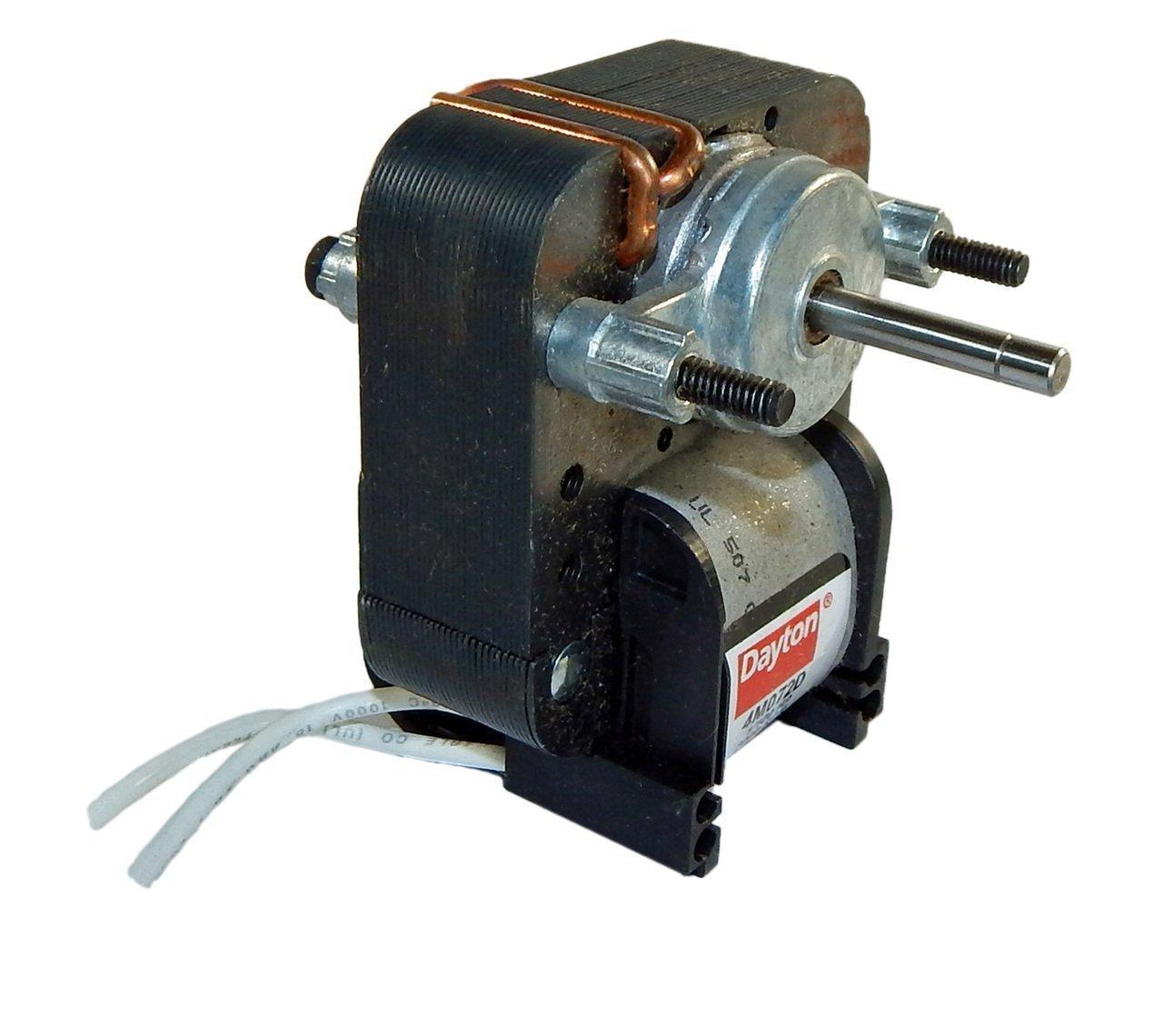 Dayton 4M072 C-Frame Motor, 1'' L, Stud/Hole, CWSE