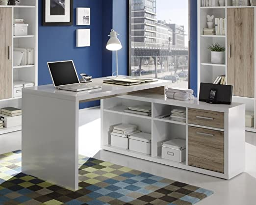 Ángulo de escritorio ordenador mesa – Mesa esquinera – Mesa de ...