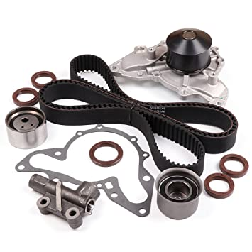 Amazon com: SCITOO Timing Belt Component Kit Water Pump Fits