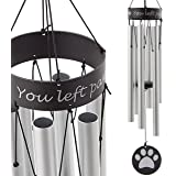 TAKEKIT Pet Memorial Wind Chime, Sympathy and Remembrance Gift for Pet Owner, Grieving The Loss of Dogs or Cats, 30…