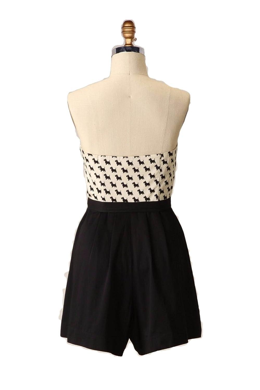 900da3d101c Anthropologie Maeve Scottie Romper Jumpsuit Dog Print Dress Size 6 at  Amazon Women s Clothing store