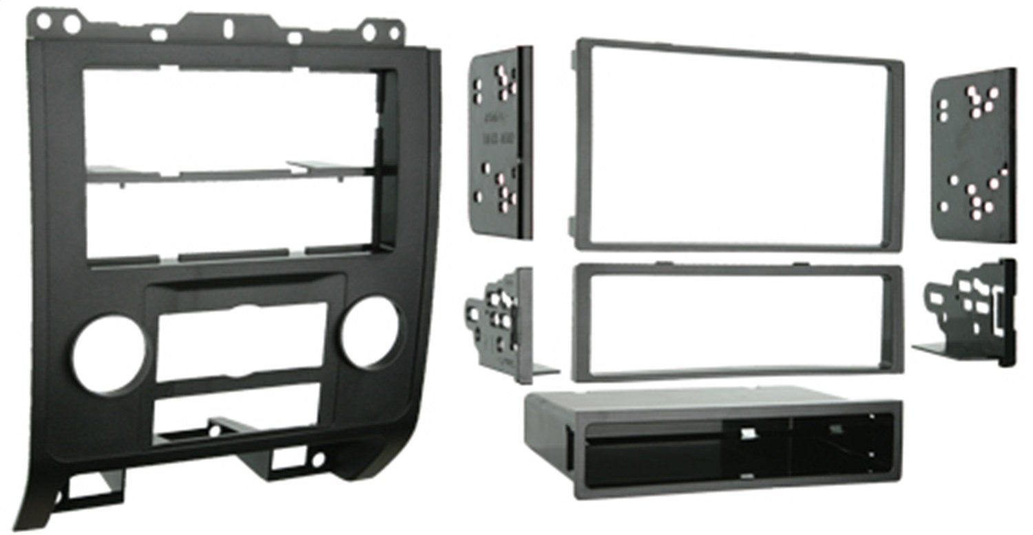 Metra 99-5814 Single or Double DIN Installation Kit for 2008-up Ford Escape/Mercury Mariner (Black) Metra Electronics Corporation