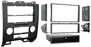 Metra 99-5814 Single or Double DIN Installation Kit for 2008-up Ford Escape/Mercury Mariner (Black)