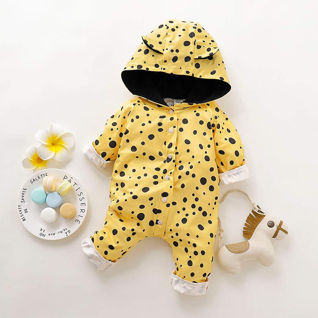 Babyoverall aus Walkwolle mit Kapuze(3M-18M) Walk Baby Overall SINGOing Baby Overall-Windjacke,Kleinkinder Softshellanzug Steppjacke Walkanzug Baby
