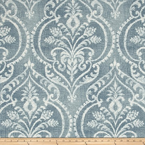 Swavelle/Mill Creek Dalusio Damask Chambray Fabric By The Yard