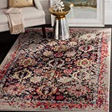 Safavieh Monaco Collection MNC206G Modern Abstract Oriental Grey and Multi Distressed Area Rug (11′ x 15′) Review