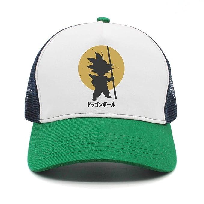 Adjustable Visor Hat Camiseta-Son-Goku-Mujer-Dragon-Ball- Mesh