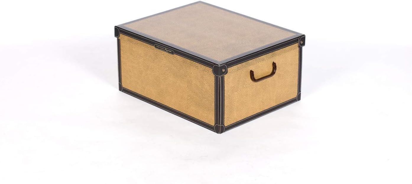 LAVATELLI Caja en Carton Beige 25 x 35 x17,5 cm
