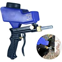 DokFin Sand Blasters, Handheld Abrasive Media Blaster Gun Air Gravity Feed Sandblaster Rust Remover,Replaceable Steel Nozzle