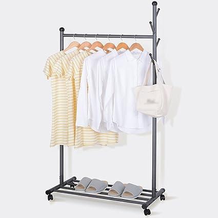 Clothes hat shelf Perchero Gris/bastidores Combo/bastidores ...