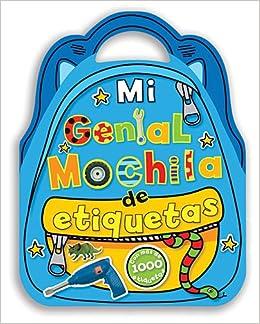 Mi genial mochila de etiquetas (Spanish Edition): Thomas Nelson: 9780718011376: Amazon.com: Books